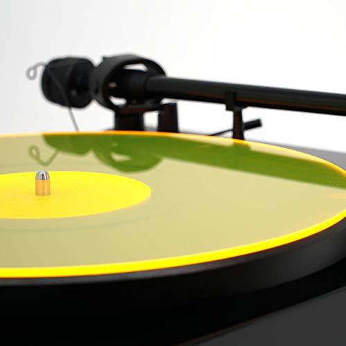 Turntable acrilico Mat | Giallo | LP Slipmat fatta a New York