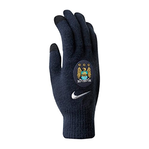 Manchester City Nike Gloves (Navy)-Large - X-Large