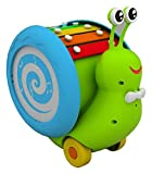 #4: Giggles Musical Snail, Multi Color