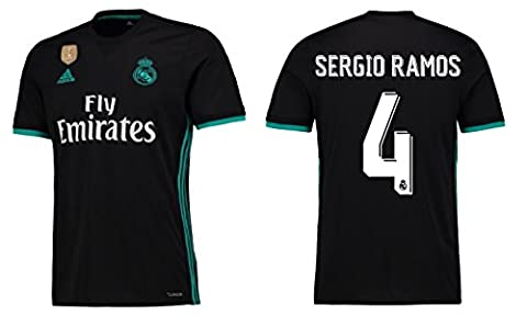 Trikot Kinder Real Madrid 2017-2018 Away WC - Sergio Ramos 4 (176)