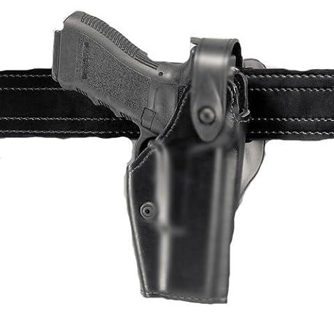 Safariland 6280 Level Ii Sls Retention Duty Holster, Mid-Ride, Black, High Gloss, Glock 17, 22 (Right Hand)