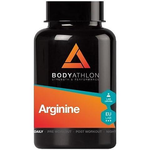 L-Arginina - 90 cápsulas. 2400mg