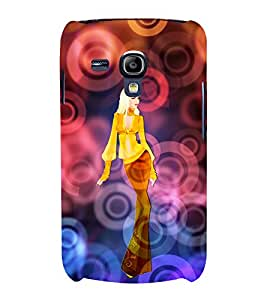 Eye Looks is Enough 3D Hard Polycarbonate Designer Back Case Cover for Samsung Galaxy S3 Mini :: Samsung Galaxy S3 Mini i8190
