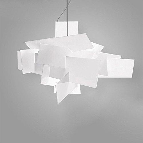 Dia 95 cm Moderne Foscarini Big Bang Stapeln Kreative Moderne Pandant Kronleuchter Beleuchtung Kunst Lampe Decke R7S LED Birnen 90-260 V