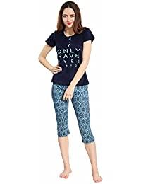 Night Suit  Buy Pajamas For Women online at best prices in India ... 1ce031cfe