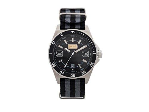 Just Cavalli Herren Analog-Digital Quarz Uhr mit Nylon Armband JC1G014L0025