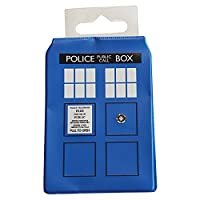 Doctor Who TARDIS Travel Card Holder - Blue