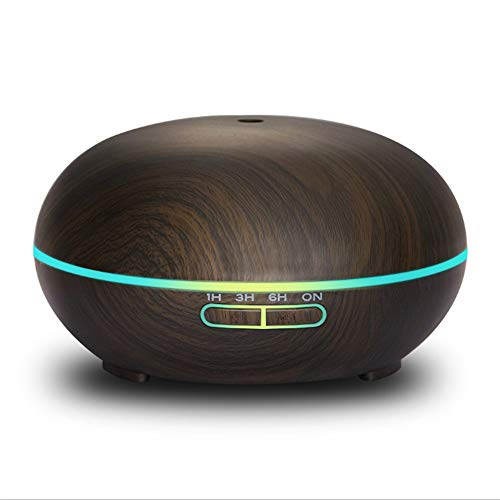 MICHEN Humidificador Ultrasónico De Niebla Fría De 300 Ml con Luces LED De Colores/Adecuado para El...