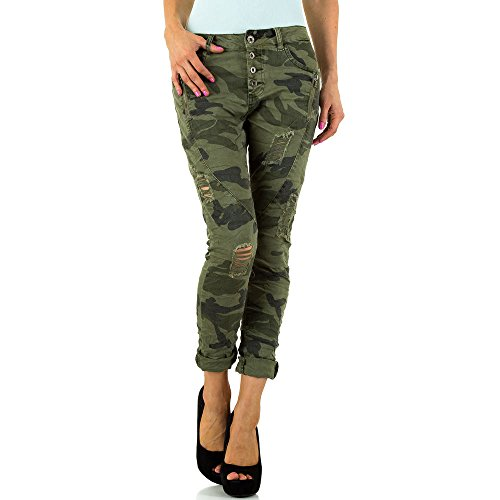 iTaL-dESiGn -  Jeans  - skinny - Donna Verde