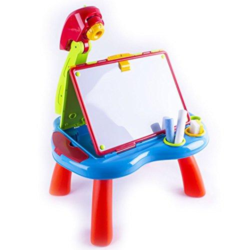 deAO-Escritorio-Proyector-Estudio-Creativo-Infantil-con-Pizarra-2en1-Vuelta-y-Vuelta–Set-Pizarra-Tiza-y-Pizarra-Magntica-Incluye-Discos-de-Proyeccin-e-Imanes