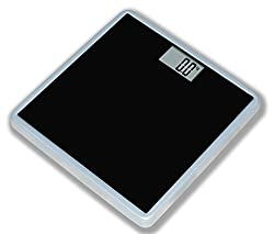 Venus EPS 2799 Electronic Digital Personal Bathroom Health Body Weight Weighing Scale (Black/White)