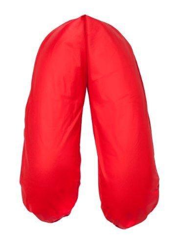 Joyfill Stillkissen Waschbarer Bezug für Flexofill Schwangerschaftskissen 190x40cm - 506 uni rot