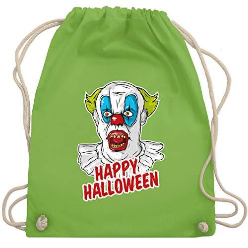 Halloween - Happy Halloween - Clown - Unisize - Hellgrün - WM110 - Turnbeutel & Gym ()