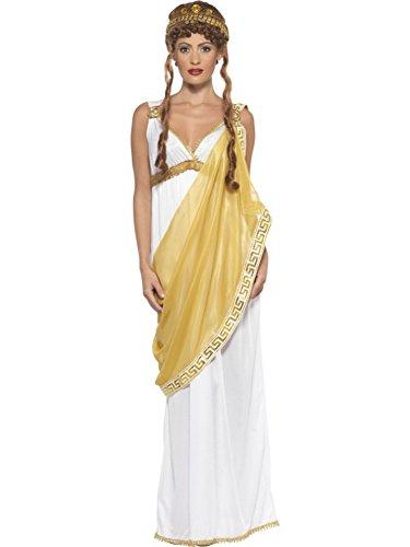 Smiffys, Damen Helena von Troja Kostüm, Kleid und Diadem, Größe: M, - Mythologie Der Griechischen Kleider