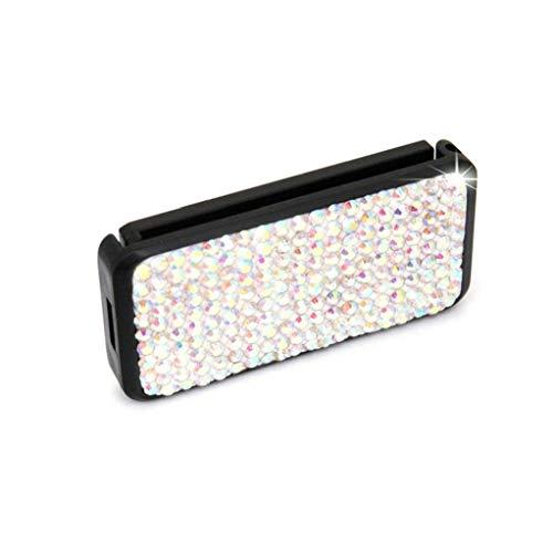Diamant-Auto-Sicherheitsgurt Teller Bling Kristall Seatbelt Clips Auto-Schulter-Ansatz-Bügel-Positionierer Locking Clip für Erwachsene für Kinder Bunte 1pcs