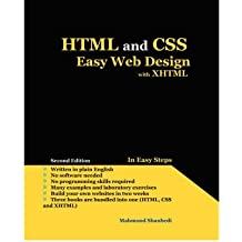 [(HTML and CSS Easy Web Design with XHTML )] [Author: Mahmood Shanbedi] [Jan-2008]