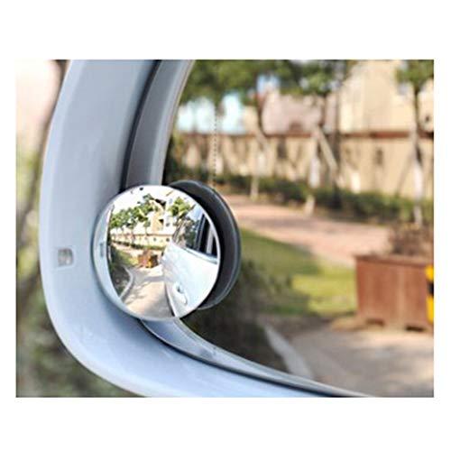 FG-Car blind angle mirror Totwinkelspiegel für Autos, rund, Rahmenlos, 360 ° drehbar, einstellbar, HD-Glas, wasserdicht, konvexer Spiegel
