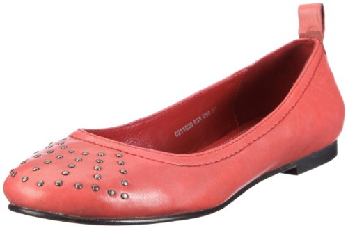 TOM TAILOR Audrey 0211020-031, Damen, Ballerinas, Rot (red 050), EU 37