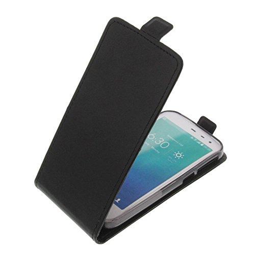 foto-kontor Tasche für Phicomm Clue M Smartphone Flipstyle Schutz Hülle schwarz