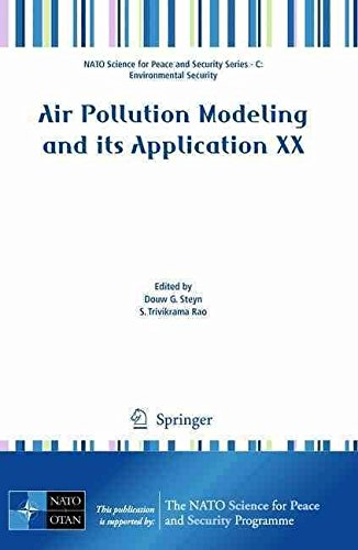 [(Air Pollution Modeling and Its Application XX)] [Edited by Douw G. Steyn ] published on (September, 2010)