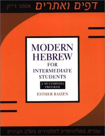 Modern Hebrew for Intermediate Students (Accompaniment, usato usato  Spedito ovunque in Italia