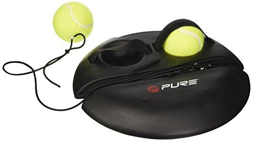 Pure2Improve, Attrezzatura Allenamento Tennis Unisex - Adulto, Nero, Taglia Unica