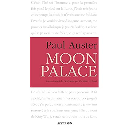 Moon Palace (Romans  Nouvell)