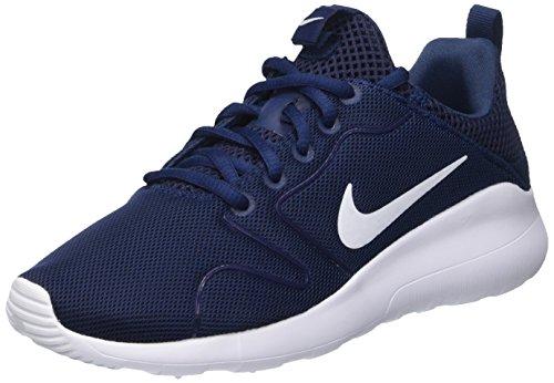 Nike Wmns Kaishi 2.0, Zapatillas de Deporte para Mujer, Azul (Midnight Navy/White), 36 1/2 EU