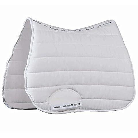 Weatherbeeta Ambition All Purpose Full Size Saddle Pad - White