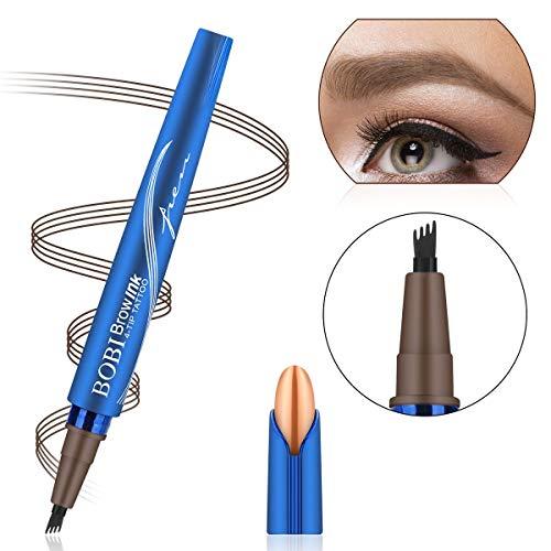 Augenbrauenstift Wasserfest Augenbrauenstift Tattoo Augenbrauenstift Definieren Sie einen hochnatürlichen Make-up-Bobble Flow(Kastanienfarben) -