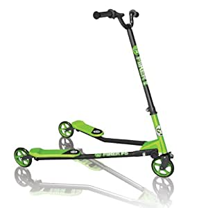 Yvolution Kids Y Fliker F5 Scooter - Green/Black