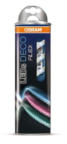 OSRAM flexible LED-Streifen 1 Meter Länge Deco Flex Starter-Set / selbstklebend / dimmbar / für farbige und weiße Lichtakzente / Farbsteuerung RGB - 9