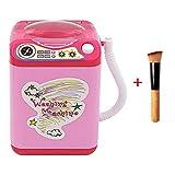 Mini-Elektrischer Make-up-Pinsel-Reiniger, automatische Reinigung, Tiefenreinigungsbürsten, Schwamm Puderquaste