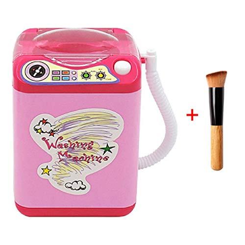 Mini cepillo eléctrico limpiador brochas maquillaje