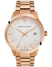Larsson & Jennings Unisex-Armbanduhr SAX39-3LRG-C-A-B-RGW-O