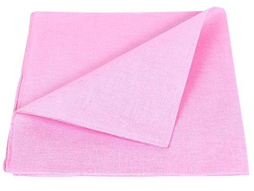 bandana-a-tinta-unita-rosa-ba-117-multifunzione-classica-di-colori-diversi-foulard-scialle-collo-roc