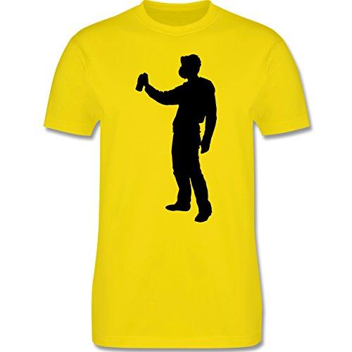 Handwerk - Lackierer - Herren Premium T-Shirt Lemon Gelb