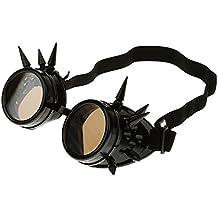 Rivet Steampunk Winddicht Spiegel Weinlese-gotische Objektive Goggles Glasses