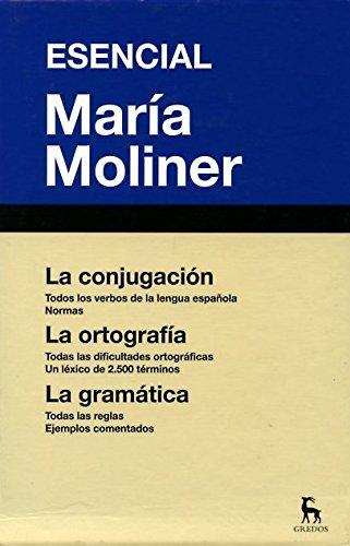 Esencial María Moliner (DICCIONARIOS) por MARIA MOLINER RUIZ