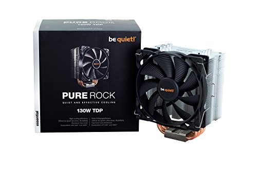 be quiet! Pure Rock Ventola per CPU, Nero