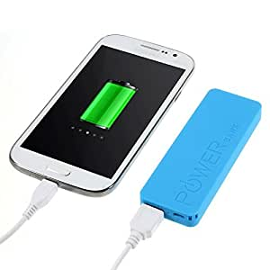 Batterie externe POWER Bank Universel 3000mAh Bleue Micro USB