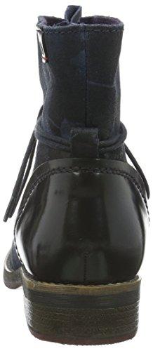 s.Oliver 25203, Bottes Chukka femme Bleu (Navy Multiflow 828)
