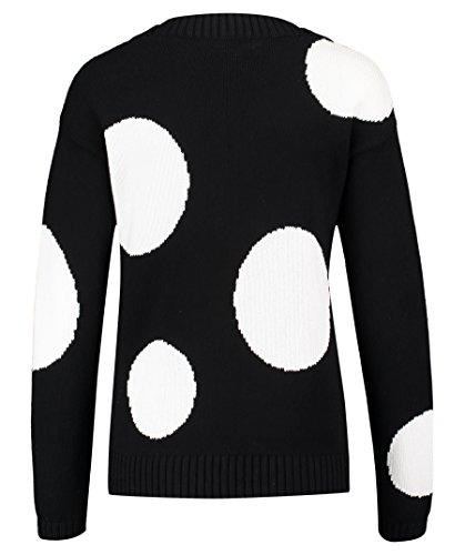 HUGO Pullover Shantell für Damen Schwarz(Mehrfarbig 964)