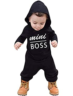 MRULIC Reizender Baby Playsuit Overall Kaninchen Ohr Badysuit stellt Outfit Pullover Jumper Herbst Frühlings Oberbekleidung...