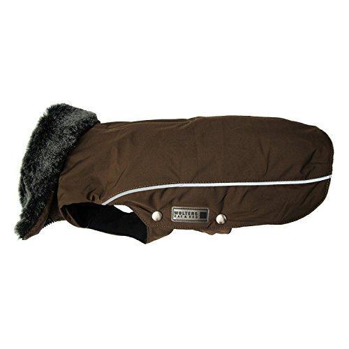 Wolters Winterjacke Amundsen kastanie XS - XL Outdoor Winterjacke Hundemantel Hundejacke Hundewinterjacke
