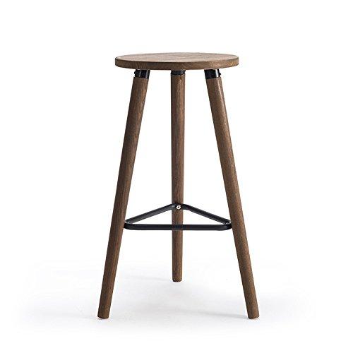 Hocker LightSeiEU/Massivholz Bar, hoher, Bar Stuhl, einfache Moderne Bar, Café, Business-Halle Bar -