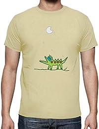 latostadora - Camiseta Cocodrilo-Luna para Hombre