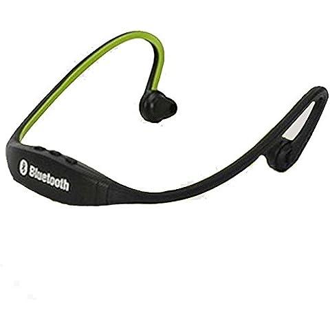Vendita calda universale stereo sport wireless vivavoce Bluetooth auricolare Cuffia Micro lettore musicale per tutti i telefoni