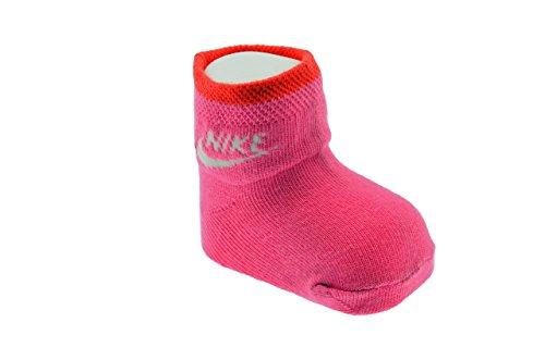 Nike Bipack Calze Sportive Socken Neu Gr 20 Kinde. (Nike-jungen Rosa Socken)