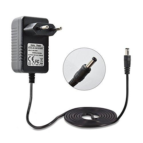 Aukru 12V 1.5A Netzteil Netzadapter für Telekom Speedport W700V W701V W721V W722V, W501V W502V W503V ,W900V W920V